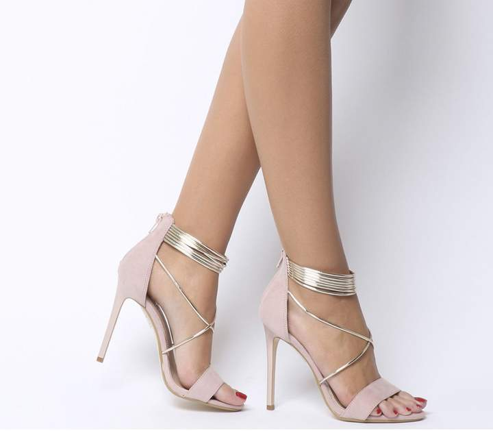 3a07243f6b Champagne High Heel Sandal - ShopStyle UK
