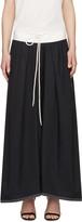 Chloé Navy Drawstring Skirt