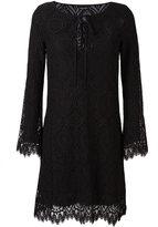 Ermanno Scervino V-neck string shift dress