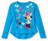 Girls' Minnie Mouse Tee-Aqua