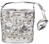Sonia Rykiel Silver Leather Bucket Bag