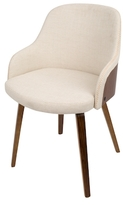 Lumisource Bacci Mid-Century Modern Dining Chair