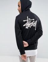 Stussy Hoodie With Logo Back Print