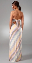 Twelfth St. by Cynthia Vincent Long Strapless Dress