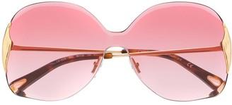 Chloé Eyewear Curtis square-frame sunglasses