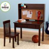 Kid Kraft Pin Board Desk & Chair in Espresso