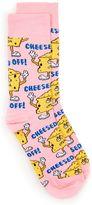 Topman Pink Cheesed Off Socks