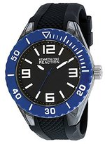 Kenneth Cole Reaction Unisex RK1340 Street Collection Analog Display Japanese Quartz Black Watch