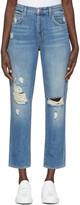 J Brand Blue High-Rise Ivy Jeans