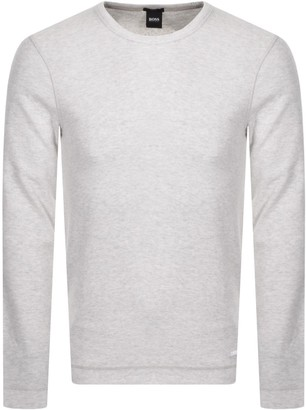 BOSS Long Sleeved Tempest T Shirt White
