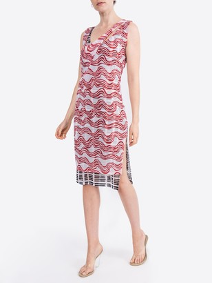 Atlein Double Layer Long Dress Multicolor