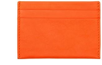 Noble Macmillan Chelsea Slim Card Case Tangerine