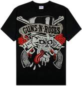 Gordon Rush Rush - Mens Permanent Waves T-shirt Black