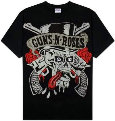 Gordon Rush Rush - Mens Permanent Waves T-shirt Black