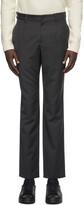 A.P.C. Grey Pinstripe Dorian Trousers