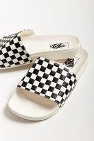 Vans X UO Checkerboard Pool Slide