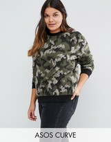 Asos Sweatshirt in Camo
