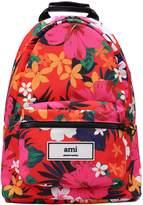 Ami Alexandre Mattiussi Tropical Print Backpack