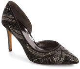 Donald J Pliner Keara Crystal Embellished Pump (Women)