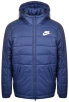 Nike Hooded Padded Jacket Blue