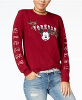 Disney Juniors' Mickey Mouse Long-Sleeve Graphic T-Shirt