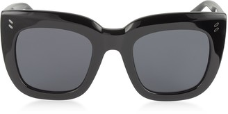 Stella McCartney SC0033S Square Cat Eye Acetate Women's Sunglasses