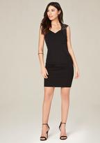 Bebe Megan Lace Applique Dress