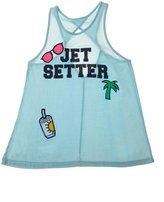 Flowers by Zoe Girl's Jet Setter Tank