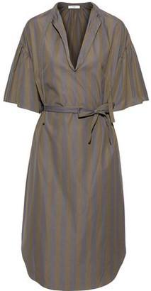 Tome Striped Cotton-poplin Dress