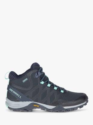 Merrell Siren 3 Women's Waterproof Gore-Tex Walking Boots, Blue Smoke
