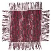 Isabel Marant Printed Fringe-Trimmed Scarf
