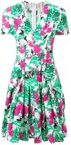 Antonio Marras floral print pleated dress