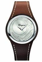 Salvatore Ferragamo Women's FID030015 GANCINO CHIC Analog Display Quartz Brown Watch