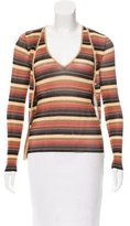 Dolce & Gabbana Stripe Cardigan Set