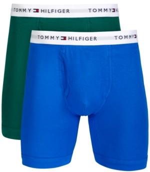 Tommy Hilfiger Men's Big & Tall 2-Pk. Cotton Classics Boxer Briefs
