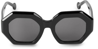 Colors In Optics 50MM Marais Geometric Sunglasses