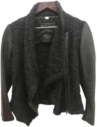 Barbara Bui Anthracite Wool Jacket for Women