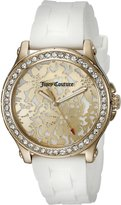 Juicy Couture Women's 1901299 Hollywood Analog Display Quartz White Watch