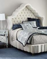 Haute House Pantages Hooded Queen Bed
