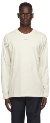 Ambush Off-White XL Logo Long Sleeve T-Shirt