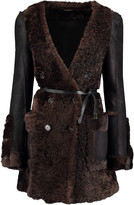 Chloé Reversible shearling and leather coat