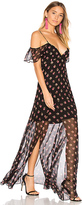 Needle & Thread Prairie Ditsy Maxi Dress in Black. - size US 0/ UK 4 (also in )