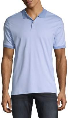 Calvin Klein Regular-Fit Feeder Striped Cotton Polo