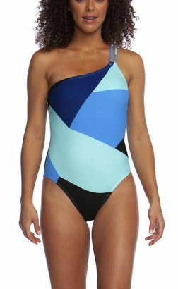 La Blanca Women's Shoulder One Piece Swimsuit