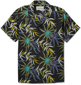 Wacko Maria - Camp-collar Printed Poplin Shirt