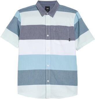 Vans Houser Stripe Short Sleeve Button-Up Shirt