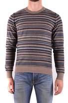 Mauro Grifoni Men's Brown Wool Sweater.