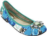 Marc Fisher As Is Slip-on Flats with Jewel Accents - Cadassi