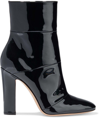 Gianvito Rossi Brandy 100 Patent-leather Ankle Boots