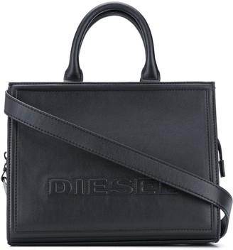 Diesel Quilted Logo Tote Bag